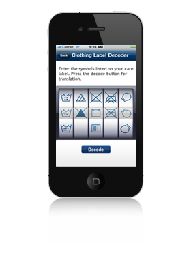 Purex Laundry Help App iPhone Screenshot